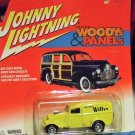 Johnny Lightning Woody's & Panels Yellow '33 Willy's Panel Van