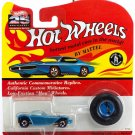 Hot Wheels 25th Anniversary Beatnik Bandit Metallic Blue Series A MOC 1993