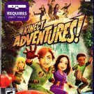 XBOX 360 KINECT ADVENTURES GAME NEW STILL SEALED