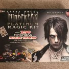Criss Angel Mindfreak Platinum Magic Kit Assorted Lot of Tricks Includes DVD