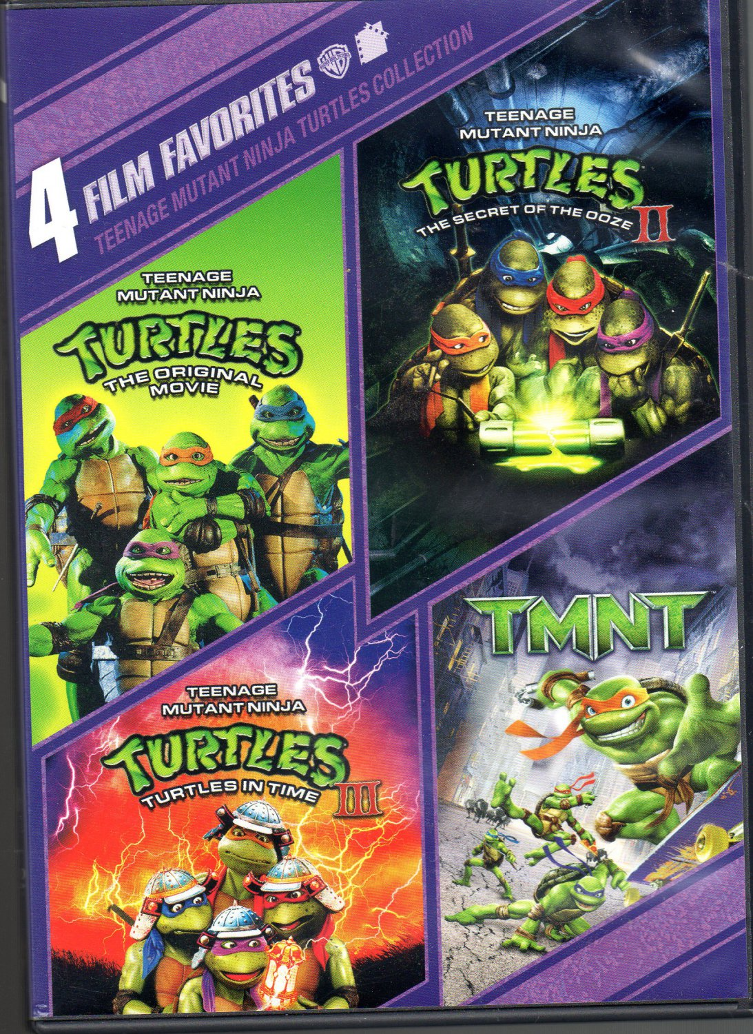 Teenage Mutant Ninja Turtles Collection: 4 Film Favorites [2 DVD