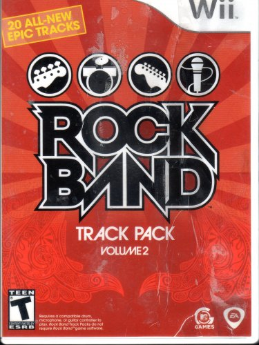 Nintendo Wii Rock Band Track Pack: Vol. 2