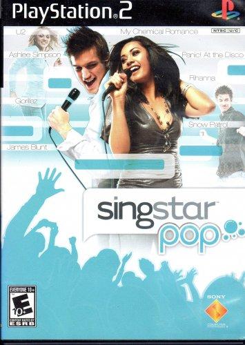 Playstation 2 SingStar Pop