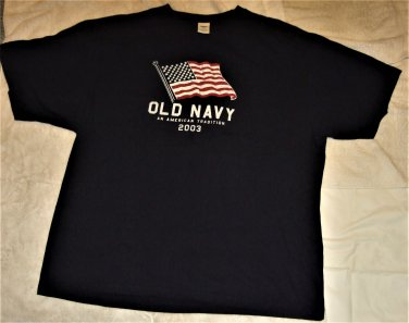 Old Navy An American Tradition 2003 Adult T Shirt