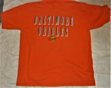 Baltimore Orioles American Eagle Adult T Shirt