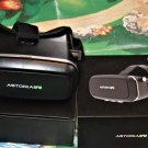 Astoria VR 3D Immersive Virtual Reality Headset, Glasses for 3D BLACK