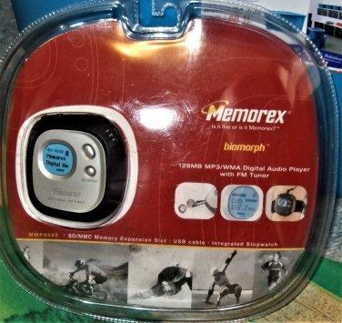 MEMOREX BIOMORPH MP3 WMA PLAYER FM Radio