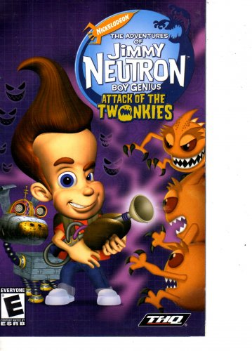 Jimmy Neutron Boy Genius Attack Of The Twonkie Playstaion 2