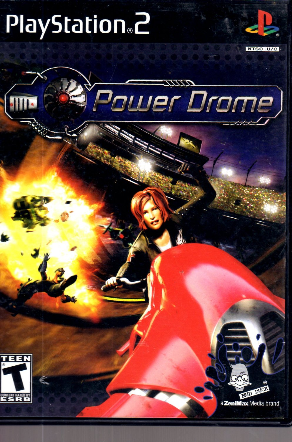 Power Drome Playstation 2 ( Complete)