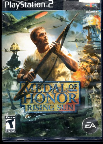 Medal Of Honor Rising Sun Playstation 2