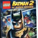 Batman 2 DC Super Hero Lego WII Game