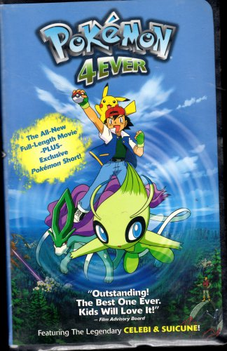 Pokeman 4 Ever VHS Tape