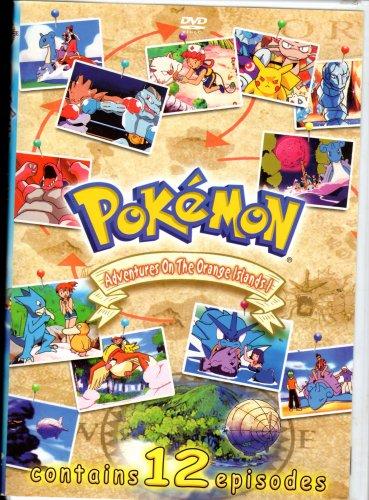 Pokemon Adventures On The Orange Island ( DVD)