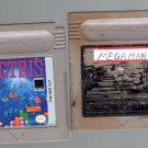 Two Nintendo Game Boy Games Mega Man & Tetris