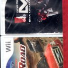 2 Wii Games  Racing Off Road & Dave BMX Challenge