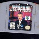 Jeopardy Nintendo 64 Game