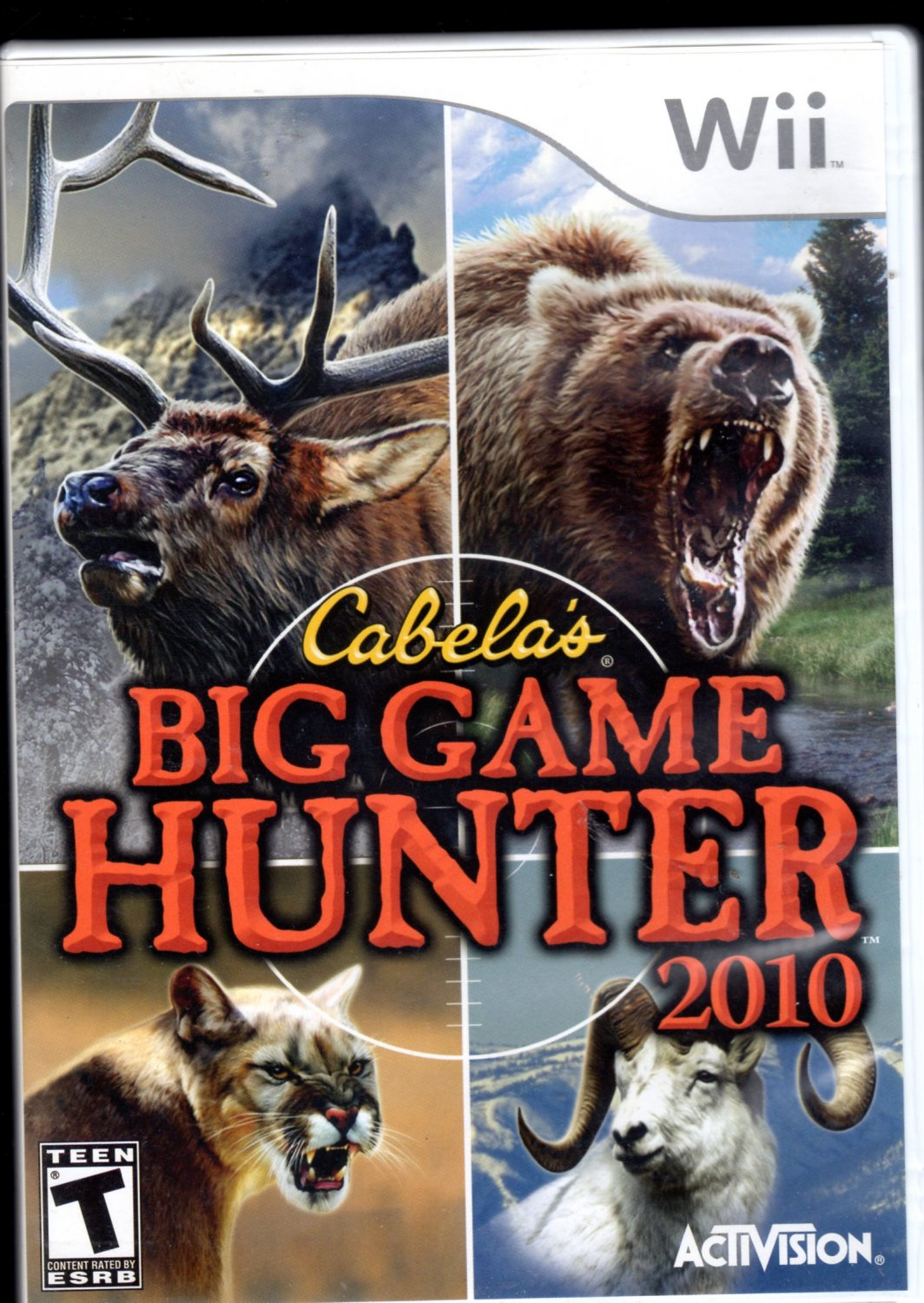 Cabela's Big Game Hunter 2010 Wii Game