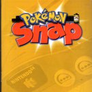 Pokemon Snap Nintendo 64 Game Instructional Booklet ONLY