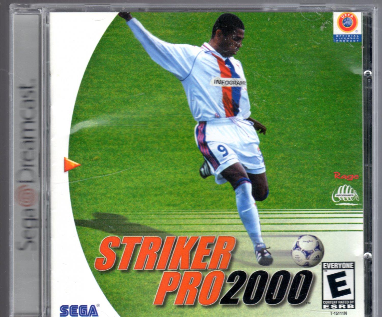 Striker Pro 2000 Sega Dreamcast Game