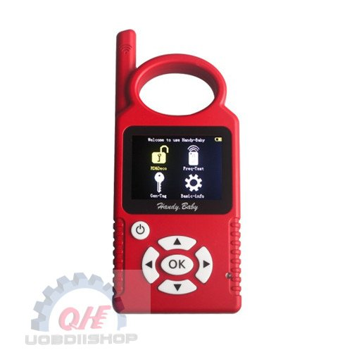 Handy Baby Hand-held Car Key Copy Auto Key Programmer for 4D/46/48 Chips Plus G Chip Copy Function