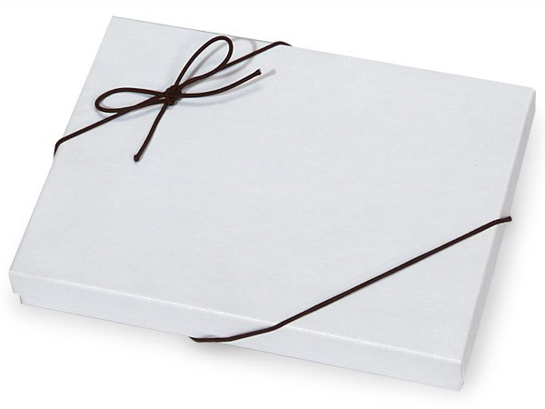"""100 Gift Box Elastic Stretch Loops with Pre-Tied Bows - Solid Black 10"""" Loops"""