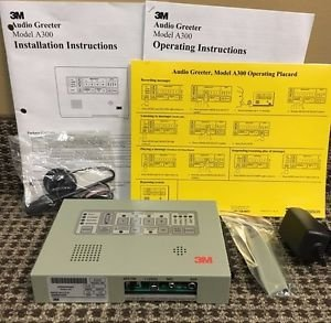 WHOLESALE 3M Drive Thru Audio Greeter System Model A300, 24 Units, New Condition