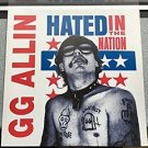 G.G. Allin Hated in the Nation [Vinyl] Excellent Condition