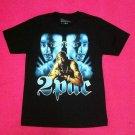 Vintage Tupac Shakur 2Pac Refur Print T-shirt