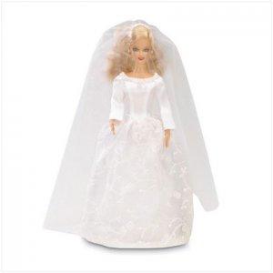 Bride fashion doll