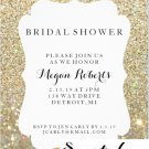 Invitation | Bridal Shower Day Fab - Gold  (Qty 10)