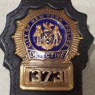 NYPD-Style Detective Badge Cut-Out Belt Clip - (Badge Not Included)
