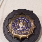 NYPD-Style Lieutenant's Badge Cut-Out Belt Clip - (Badge Not Included)