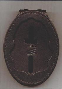 Drug Enforcement Administration DEA Badge Cut-Out Belt Clip (Badge Not Included)