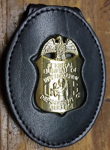 FBI Badge Cut-Out Large Belt Clip - (Badge Not Included)