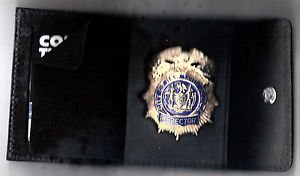 NYPD-Style-Inspector Snap Wallet (Badge Not Included)
