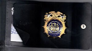 NYPD-Style-Assistant Chief Snap Wallet (Badge Not Included)