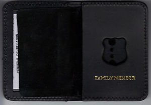 NYPD-Style-Officer Family Member Mini Wallet (Badge Not Included)