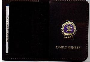 NYPD-Style-Detective Family Member Mini Wallet (with Random Numbered Mini)