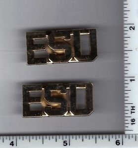 """Emergency Service Unit """"ESU"""" Collar Brass (Citywide) per the NYPD-Patrol-Guide"""