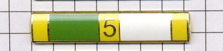 "Excellent Police Duty Citation Bar (won 5x) ""EPD-5"" per the NYPD-Patrol-Guide"