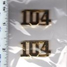 104th Precinct Collar Brass (Queens) as per the NYPD-Patrol-Guide