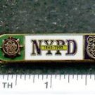 150th Year Anniversary Bar as was authorized by the NYPD-Patrol-Guide