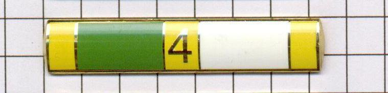 """Excellent Police Duty Citation Bar (won 4x) """"EPD-4"""" per the NYPD-Patrol-Guide"""