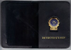 NYPD-Style-Detective Son Mini Wallet (with Random Numbered Mini)