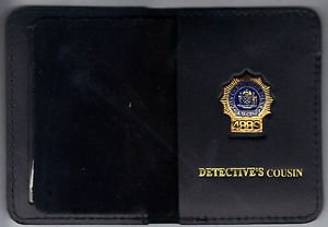 NYPD-Style-Detective Cousin Mini Wallet (with Random Numbered Mini)