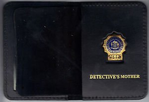 NYPD-Style-Detective Mother Mini Wallet (with Random Numbered Mini)