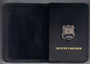 NYPD-Style-Officer's Mother Mini Wallet (with Random Numbered Mini)