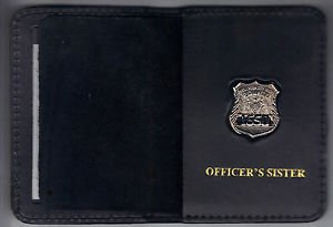 NYPD-Style-Officer's Sister Mini Wallet (with Random Numbered Mini)