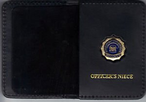 NYS Dept of Correctional Services Officer's Niece Wallet (Mini Badge Included)