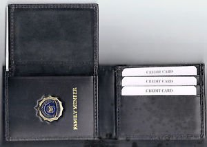 NYS Dept of Correctional Services Family Member CC Wallet (w/Mini Badge - CT-70)